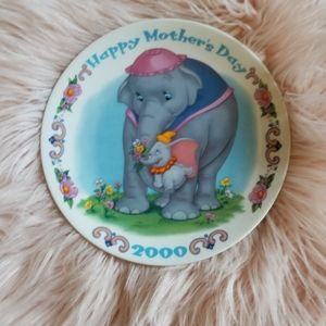 Disney Mothers Day Plate 2000